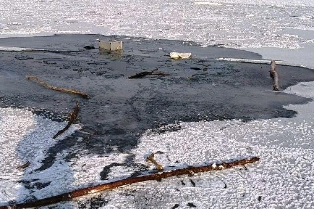 На Каме под лед провалился пожилой мужчина