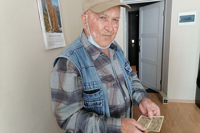 Владимир Мишуков до сих пор хранит украденные у фашиста деньги