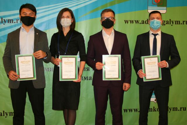 Раиль Фаритов с победителями муниципального этапа