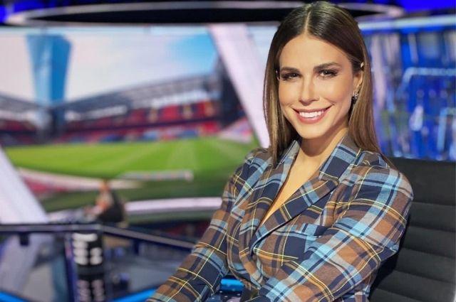 Ведущая телеканала «Матч-ТВ» Ольга Петрякова