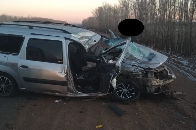 В ДТП под Оренбургом погиб 37-летний мужчина.