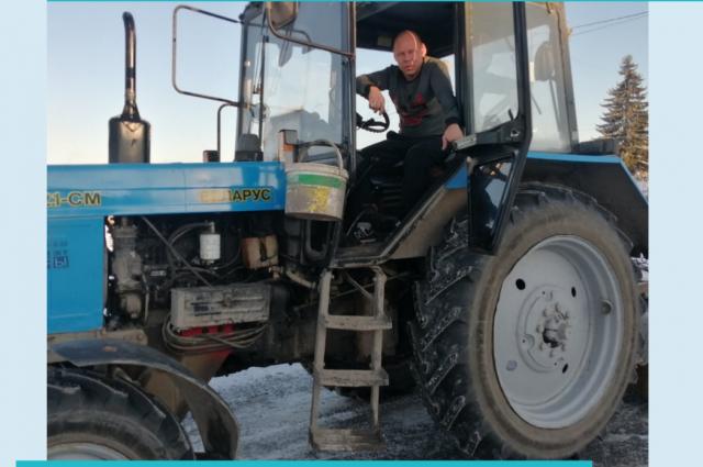 Тюменские дорожники стараются убрать снег до восьми утра