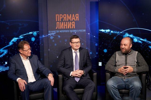 Виктор Чуяков, Алексей Кулешов и Петр Шкуматов.