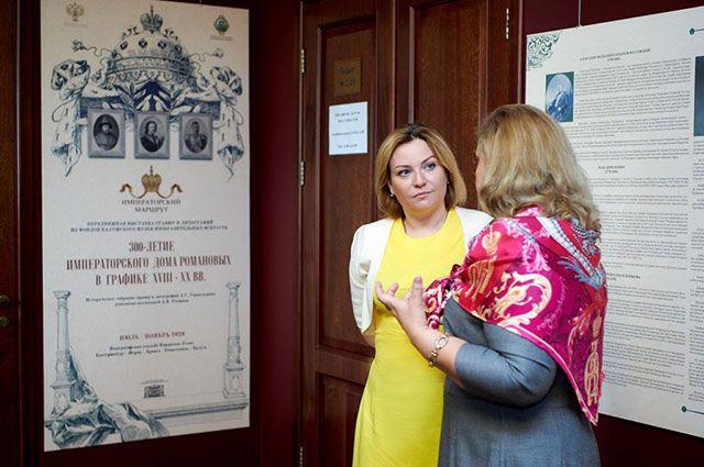 Ольга Любимова побывает в театре оперы и балета.