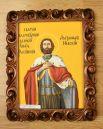 Икона в исполнении Евгения Лузина.