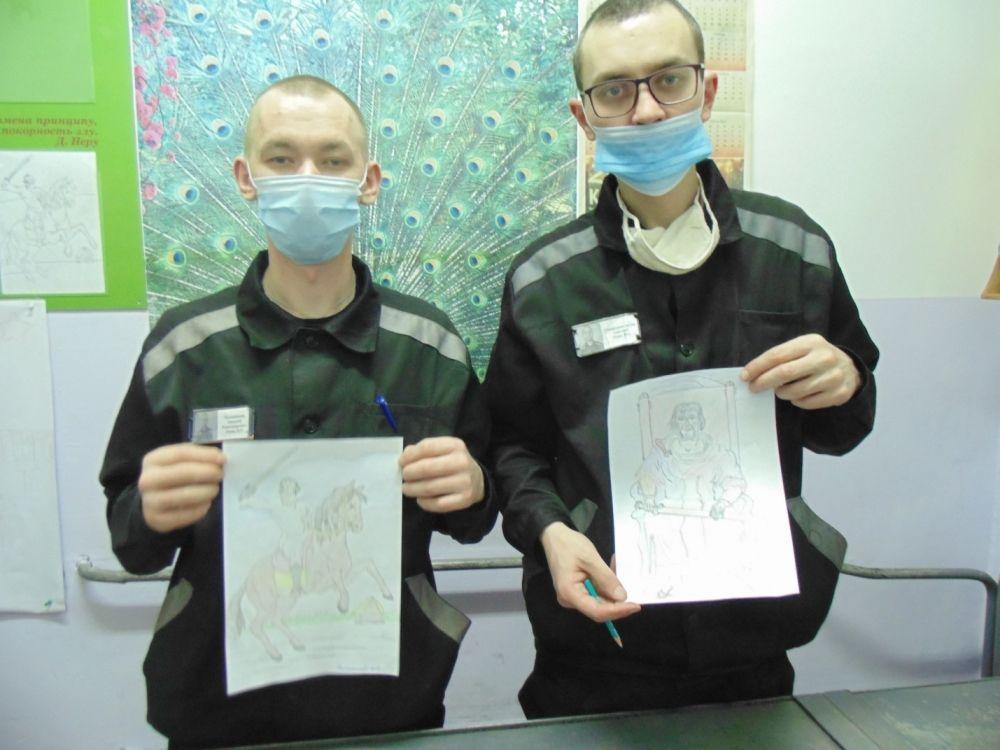 Участники конкурса из СИЗО №6.