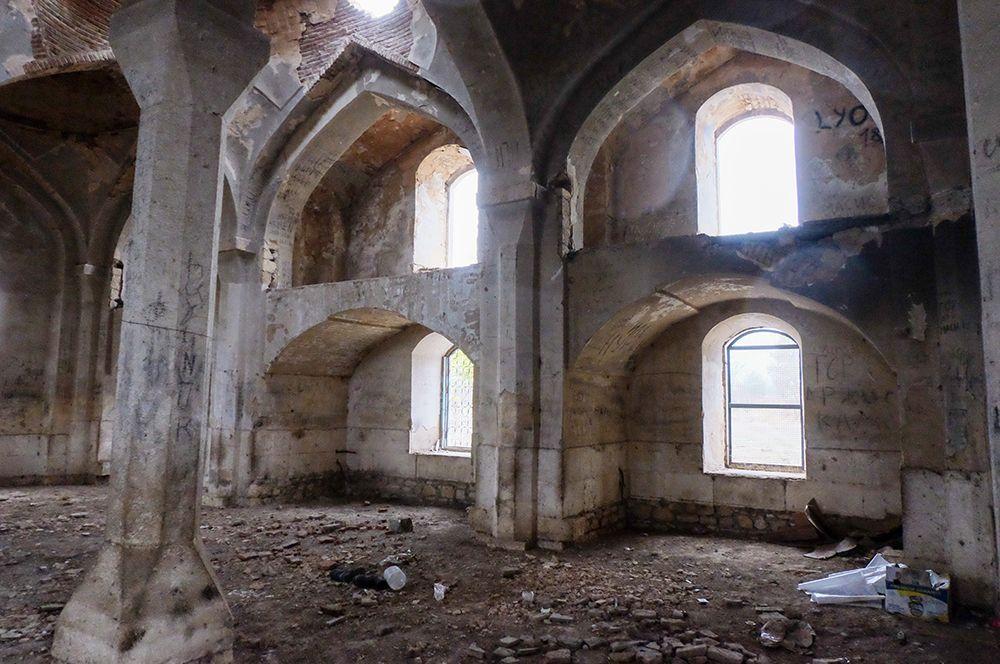 Мечеть «Джума» в Агдаме.