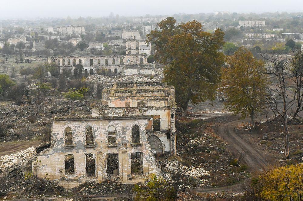 Руины Агдама.