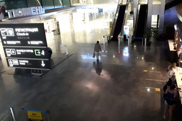 Вылет самолета из Тюмени в Москву задержали на восемь часов