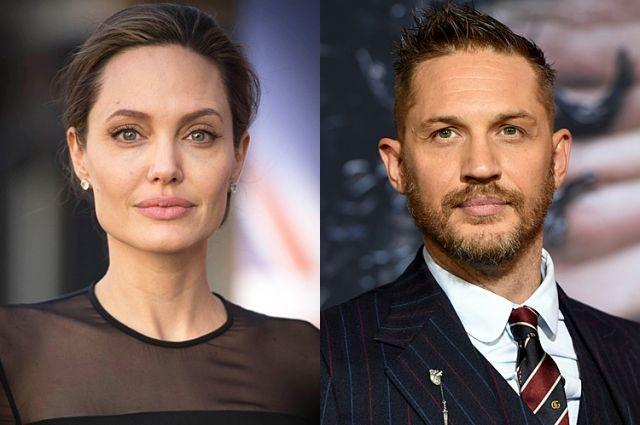 Анджелина Джоли и Том Харди снимут фильм о военном фотографе