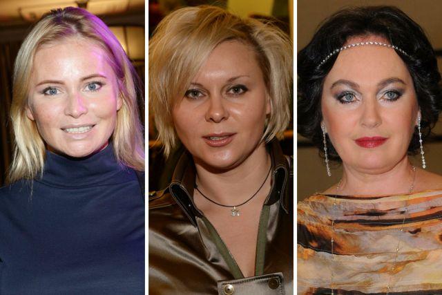 Дана Борисова, Яна Троянова, Лариса Гузеева.