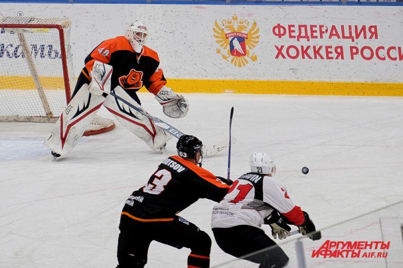 Домашний матч «Молот-Прикамье» - «Тамбов» в Перми.