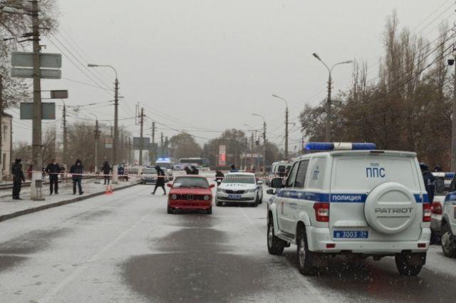 Водитель напал на сотрудника полиции.