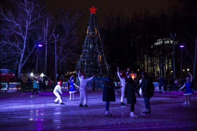 В Новосибирске зальют 21 каток.