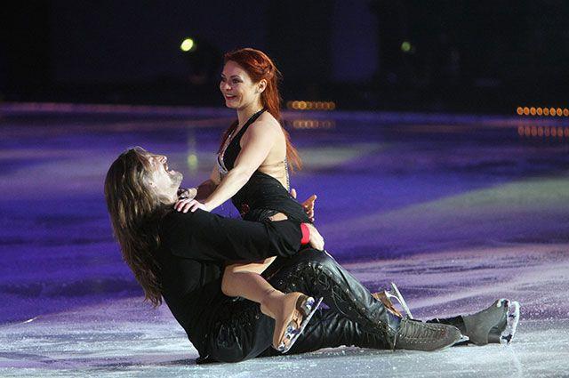 Марина Анисина и Никита Джигурда.
