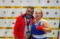 Татьяна Богданова с тренером.