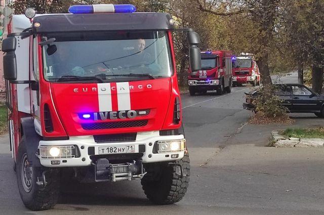 Один человек погиб и двое пострадали на пожаре в жилом доме в Удмуртии