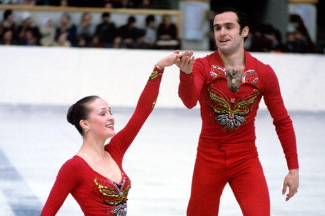Наталья Линичук и Геннадий Карпоносов, 1979 год.