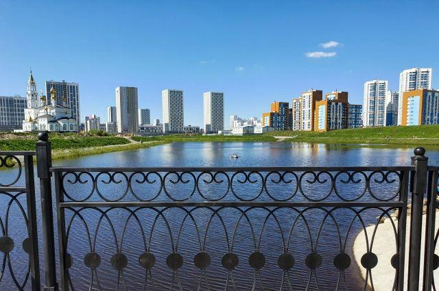 На базе Академического формируется современный восьмой район Екатеринбурга.
