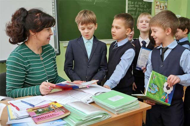 К очному обучению приступили младшеклассники.