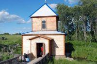 Часовня Иоанна Предтечи в Старицком районе.