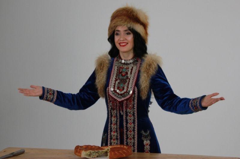 Наиля Давлетшина - башкирского.