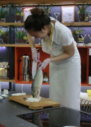 Участницы демонстрировали свое умение готовить национальные блюда.