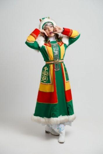 Виктория Старостина - якутского.