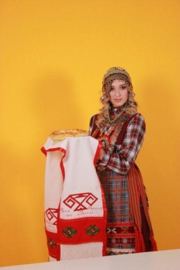 Анастасия Совина представляла чувашей.
