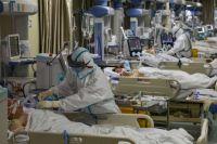 В Украине больничные койки для больных COVID-19 заполнены на 50 процентов