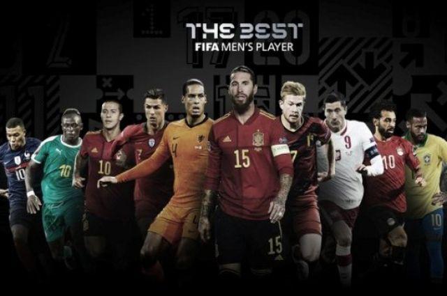 ФИФА назвала претендентов на номинацию лучший футболист года.