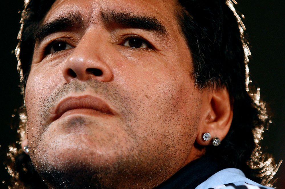 Диего Марадона в 2009 году.