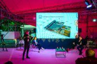 Руководитель инициативной группы по созданию Арт-резиденции Югры Илья Кириченко презентует проект