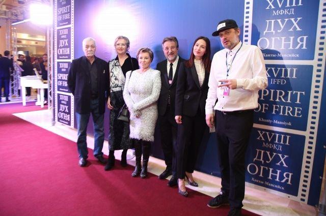 На открытии кинофестиваля-2020
