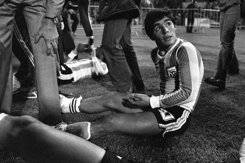 Диего Марадона в 1979 году.