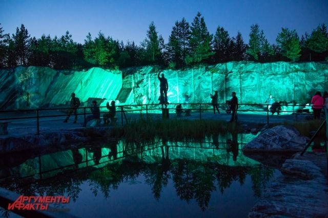 Горный парк Мраморный каньон Рускеала – одно из самых удивительных мест Северного Приладожья, ежегодно привлекающее множество туристов.