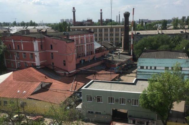 Так комплекс выглядел до начала демонтажных работ.