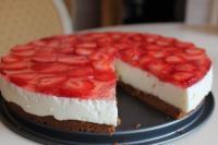 Творожный чизкейк с клубникой: рецепт вкусного десерта