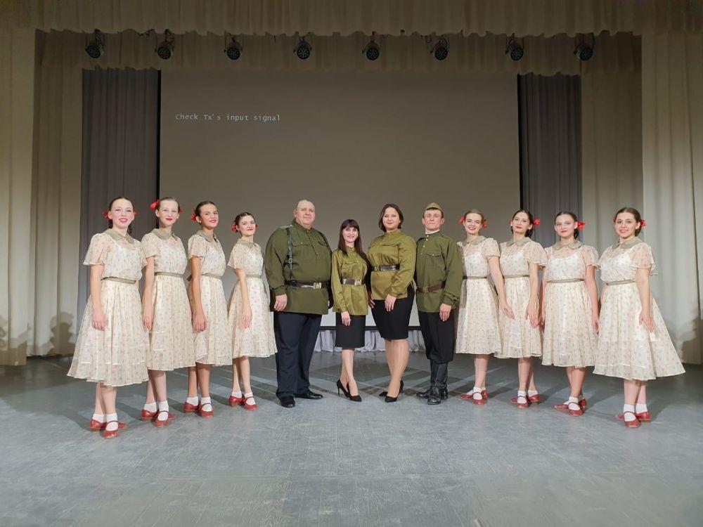 На новой сцене РДК в Плешаново в Год памяти и славы.