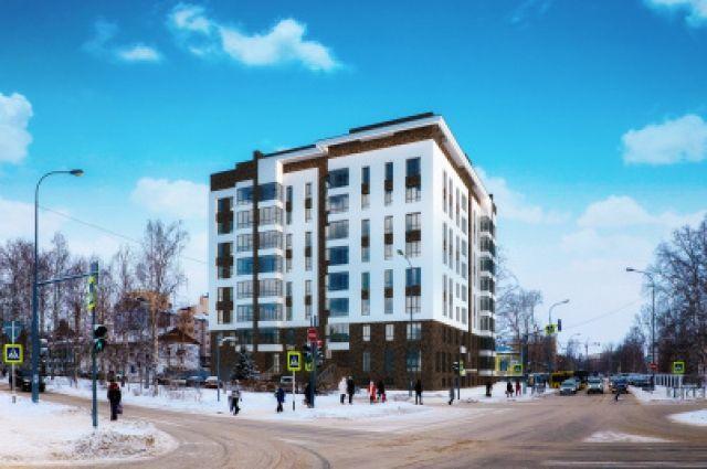 В Ханты-Мансийске в этом году появилось много современных домов