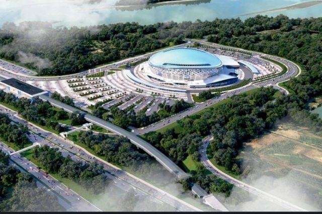 Новый ледовый дворец спорта на улице Немировича-Данченко в Новосибирске сдадут не позднее начала 2022 года. Чтобы не нарушать сроки, на следующей неделе не объект привлекут дополнительную рабочую силу — 100 человек.