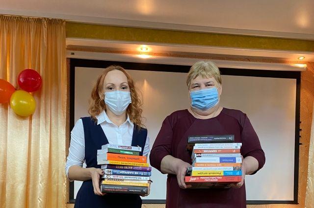 Школьникам села Казанское подарили день игры и мотивационную библиотеку