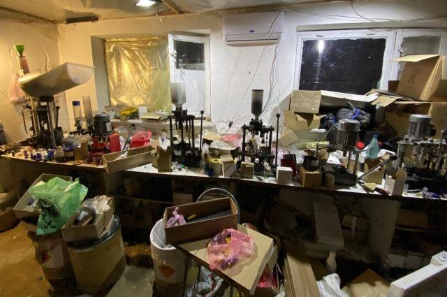 В Киеве правоохранители обнаружили мастерскую по изготовлению боеприпасов