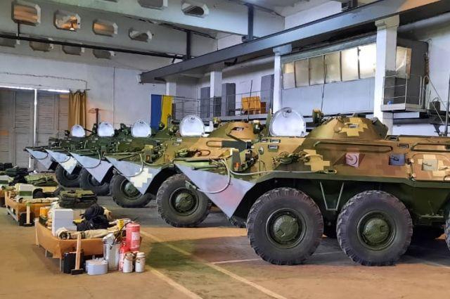 ВСУ получили партию новых БТР-80