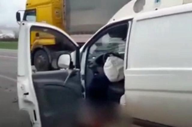 На Нестеровской трассе произошло ДТП с двумя пострадавшими