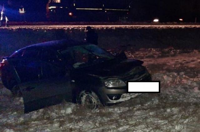 На автодороге «Оренбург-Илек» произошло смертельное ДТП.