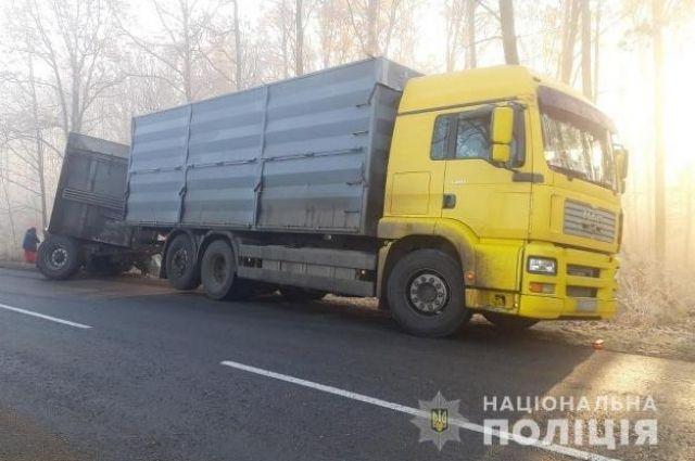В Черновицкой области произошло смертельное ДТП.