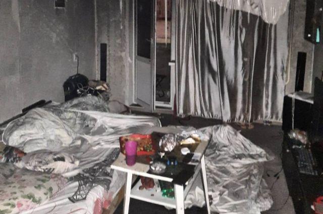 В пожаре в доме на ул. Пролетарской погибла 37-летняя оренбурженка.