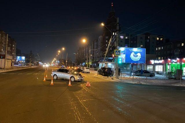 ДТП произошло на пересечении ул. Жукова с ул. Лермонтова