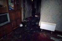 В пожаре в Днепропетровской области погибли двое маленьких детей